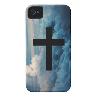 Cross in the Sky iPhone 4 Case-Mate Cases