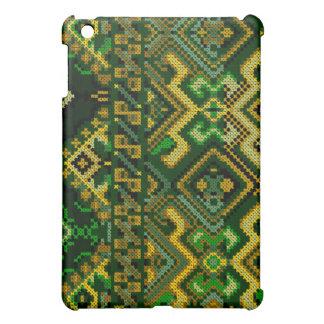 Cross Stitch Pattern iPad Hard Case Cover For The iPad Mini