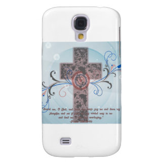 Cross with Scripture Galaxy S4 Case
