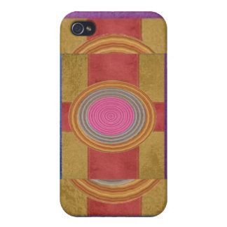 CROSS Your Heart - Art101 Simple Blocks n Circles Cases For iPhone 4