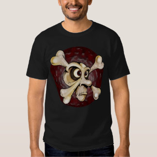 Crossbones Black T-Shirt