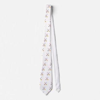 Crossed Mop & Broom Tie