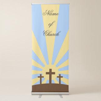 Crosses Retractable Banner