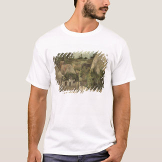Crossroads at the Rue Remy, Auvers, c.1872 T-Shirt