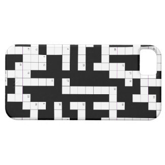 Crossword puzzle phone case - fill in the blanks barely there iPhone 5 case