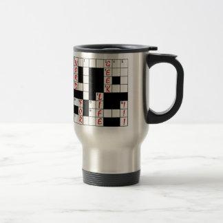 Crossword Puzzle Word Geek For Life Coffee Mug