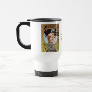 Crow Goddess IIIby Lori Karels Travel Mug