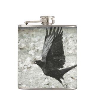 Crow / Raven Flask