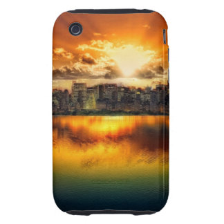 """""""cROWDED hORIZON"""" Tough iPhone 3 Cases"""