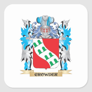Crowder Coat of Arms - Family Crest Sticker