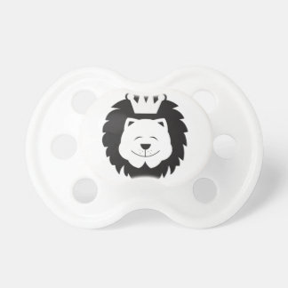 CROWN'D LION BABY PACIFIERS
