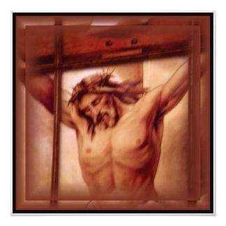 Crucifix Invitation