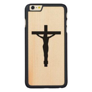 Crucifix Silhouette iPhone Case