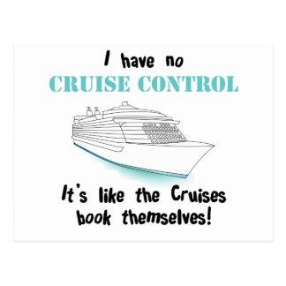 Cruise Control Postcard