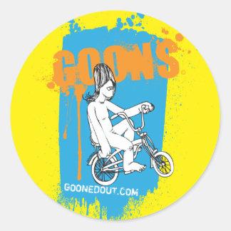 Cruiser Goon Paint Classic Round Sticker