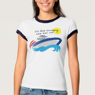 Cruising Life Ladies Ringer T-Shirt