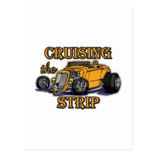 Cruising The Strip Postcard