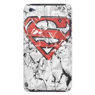 Crumpled Comic Superman Logo iPod Touch Case