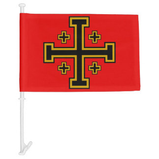 Crusader Flag Car Flag