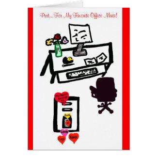 Crush on You Valentine Greeting Card Greeting Card