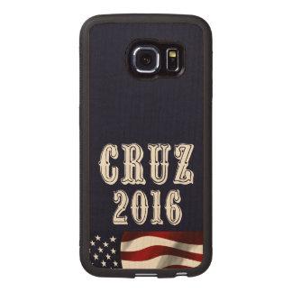 Cruz for President Wood Phone Case