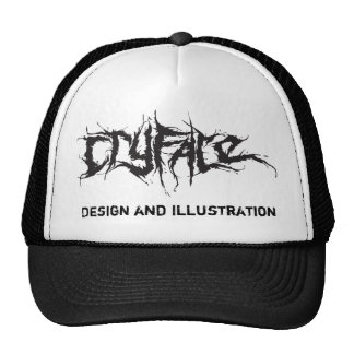 CRYFACE, Design and Illustration Cap