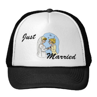 Crying Brides Exchanging Vows Hat