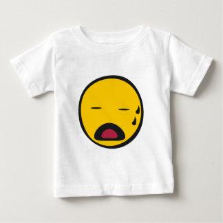 Crying Emoji Baby T-Shirt