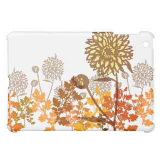Crysanthemum Graphic Cover For The iPad Mini