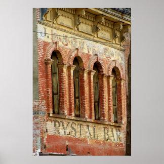 Crystal Bar Poster