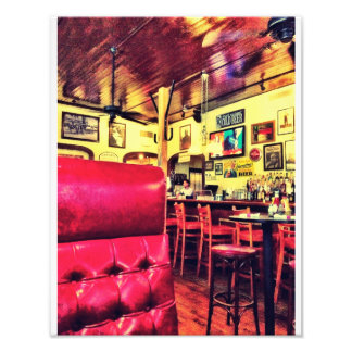 Crystal Beer Parlor, Savannah Photo Print