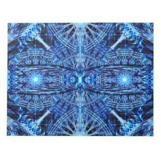 Crystal Dimension Mandala Notepad