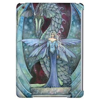 Crystal Dragon Fairy Fantasy Art