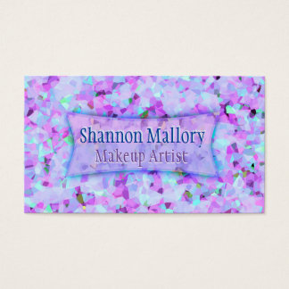 Crystal Pink Business Card