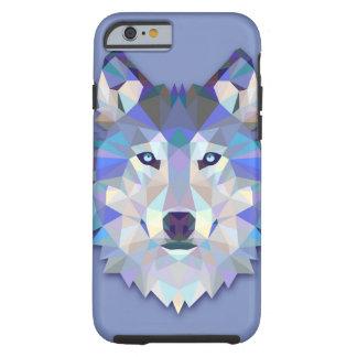 CRYSTAL WOLF Geometric Wolf Head Tough iPhone 6 Case