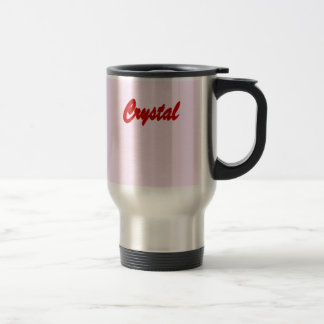 Crystal's travel mug