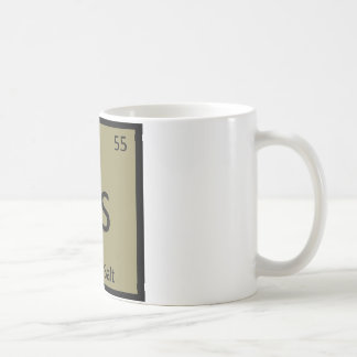 Cs - Celery Salt Chemistry Periodic Table Symbol Coffee Mugs