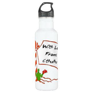 Cthulhu Christmas 710 Ml Water Bottle