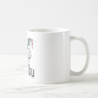 Cthulhu horror vector art coffee mug