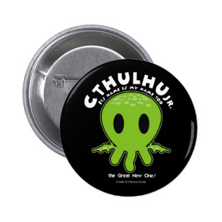 Cthulhu Jr - Icon 6 Cm Round Badge