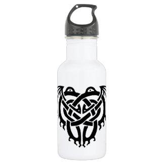 Cthulhu Knot (Black) 532 Ml Water Bottle