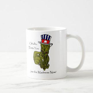 Cthulhu Wants You! Mug