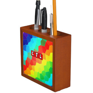 CTL Rainbow Mosaic desk organizer Pencil/Pen Holder