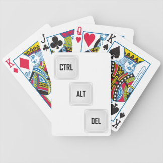 Ctrl Alt Del Bicycle Playing Cards