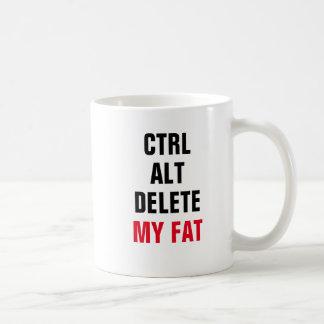 CTRL ALT DELETE MY FAT COFFEE MUG