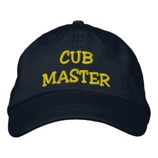 CUB MASTER EMBROIDERED BASEBALL CAP