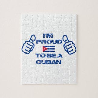 Cuba Design Jigsaw Puzzle