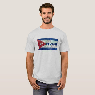 Cuba Flag Classic Car T-Shirt
