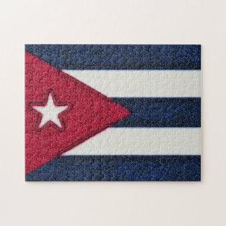 CUBA FLAG JIGSAW PUZZLE