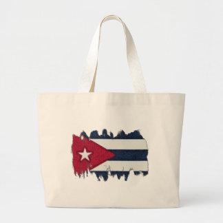 CUBA FLAG JUMBO TOTE BAG